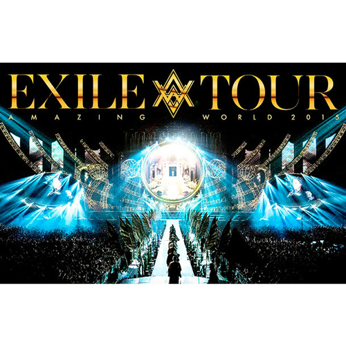 "EXILE『EXILE LIVE TOUR 2015 ""AMAZING WORLD""』(DVD/Blue-Ray)"
