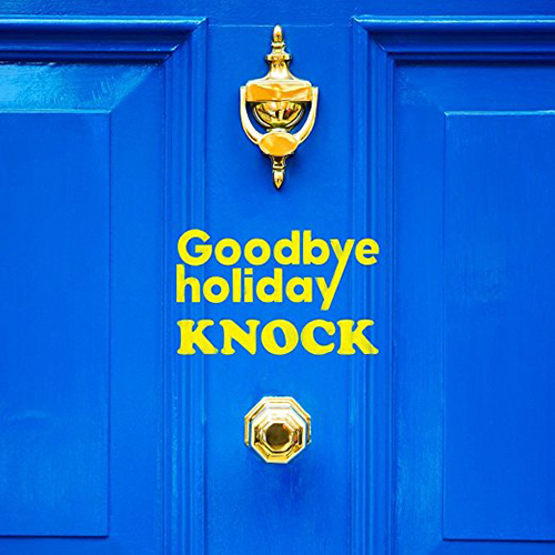 Goodbye holiday『KNOCK』 (Mini Album)